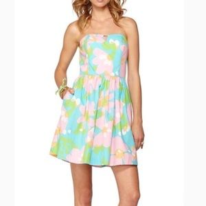 Lilly Pulitzer Richelle Tie Back Dress Size 4